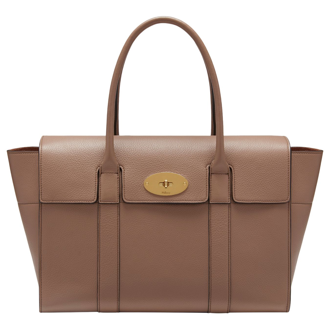 283146c477 Mulberry Bayswater New Classic Natural Grain Leather Bag
