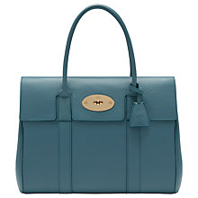 Buy Mulberry Bayswater Small Classic Grain Leather Grab Bag Online at johnlewis.com