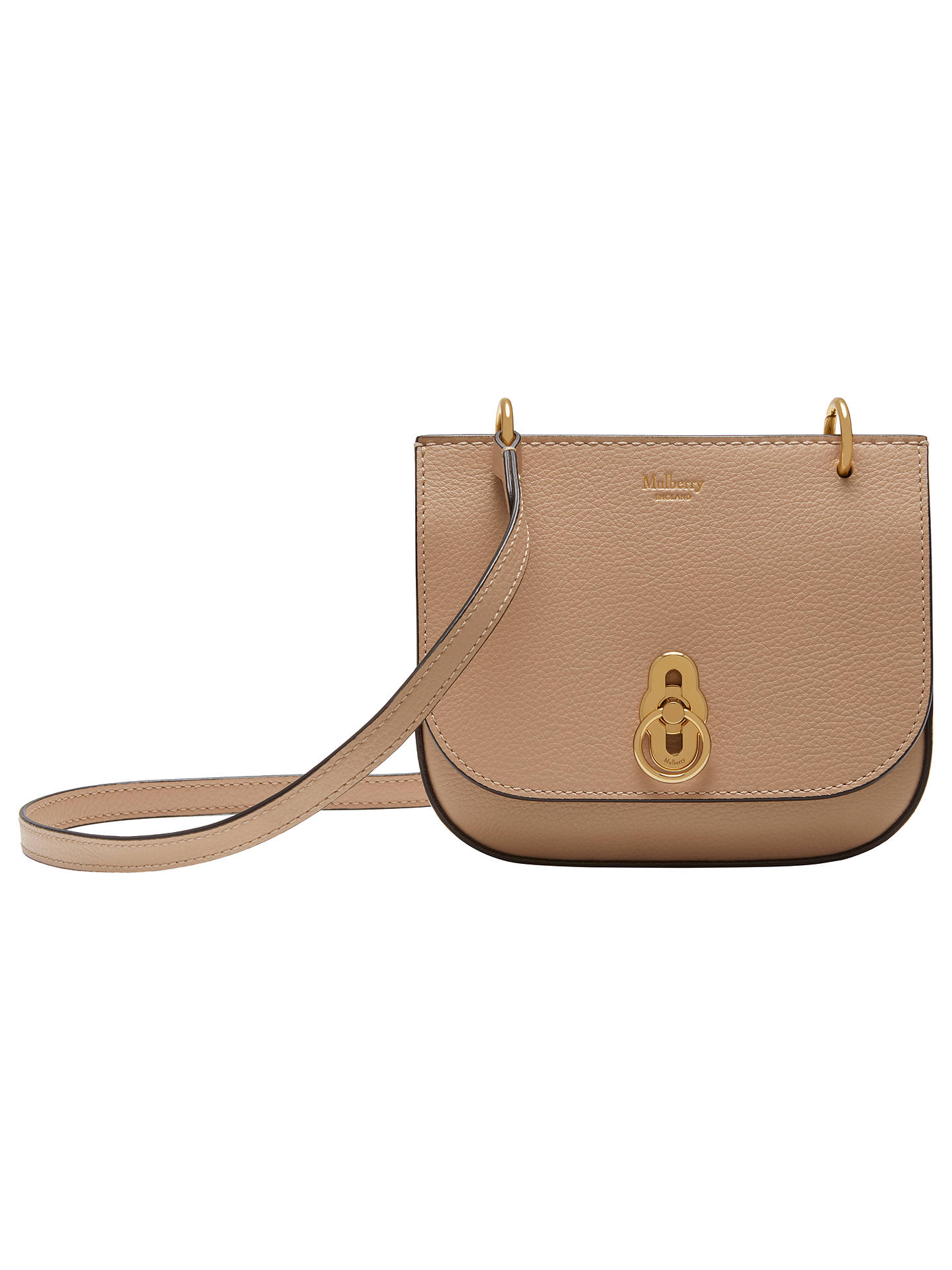 c641c9a187 ... discount code for buymulberry mini amberley leather satchel rosewater  online at johnlewis 75f71 42214