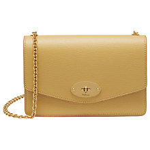 Buy Mulberry Darley Grain Veg Tan Leather Bag Online at johnlewis.com