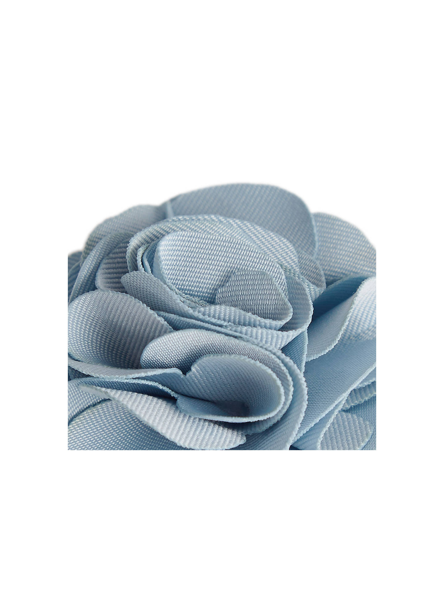 Buy Reiss Piani Flower Dress Pin, Soft Blue Online at johnlewis.com