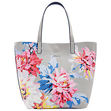 Buy Joules Revery Whitstable Tote Bag, Grey/Multi Online at johnlewis.com
