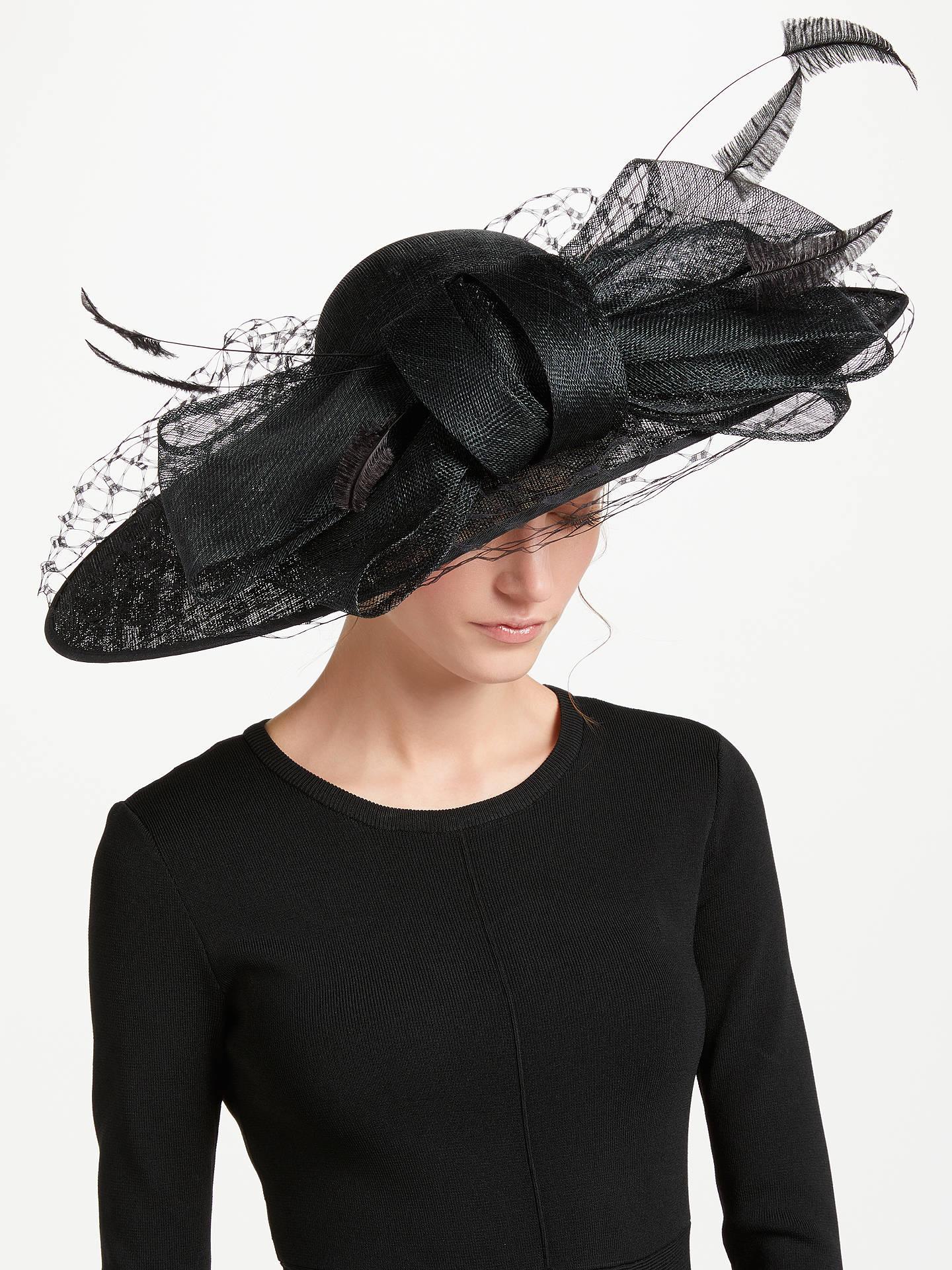 027d60efc6550 Buy Nigel Rayment Ada Large Veil Down Brim Occasion Hat