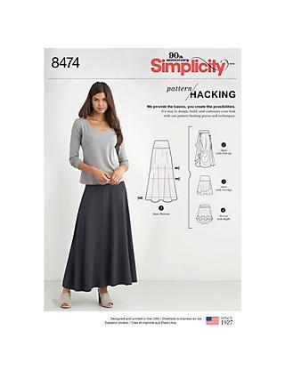 Skirts | Sewing Patterns | John Lewis & Partners