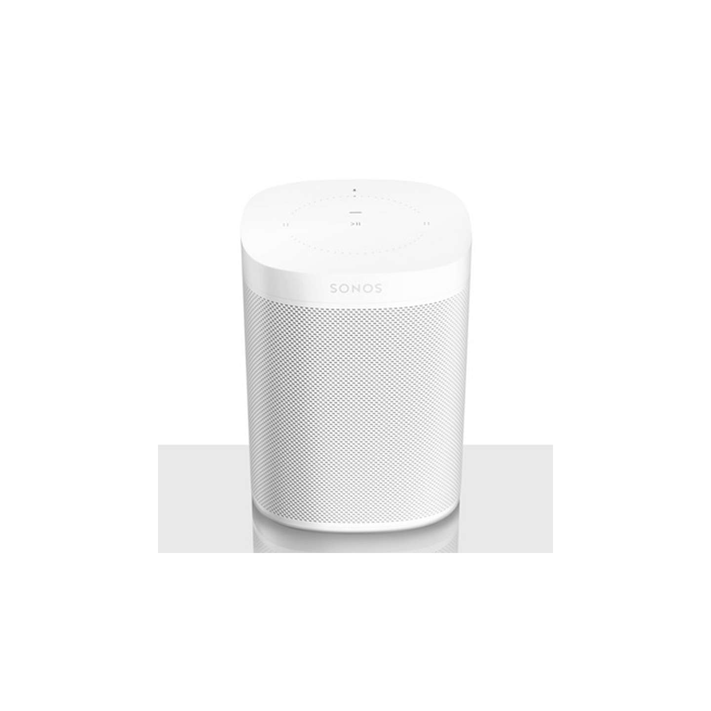 BuySonos One Voice Controlled Smart Speaker, White Online at johnlewis.com