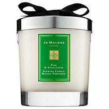 Buy Jo Malone London Pine & Eucalyptus Scented Home Candle, 200g Online at johnlewis.com