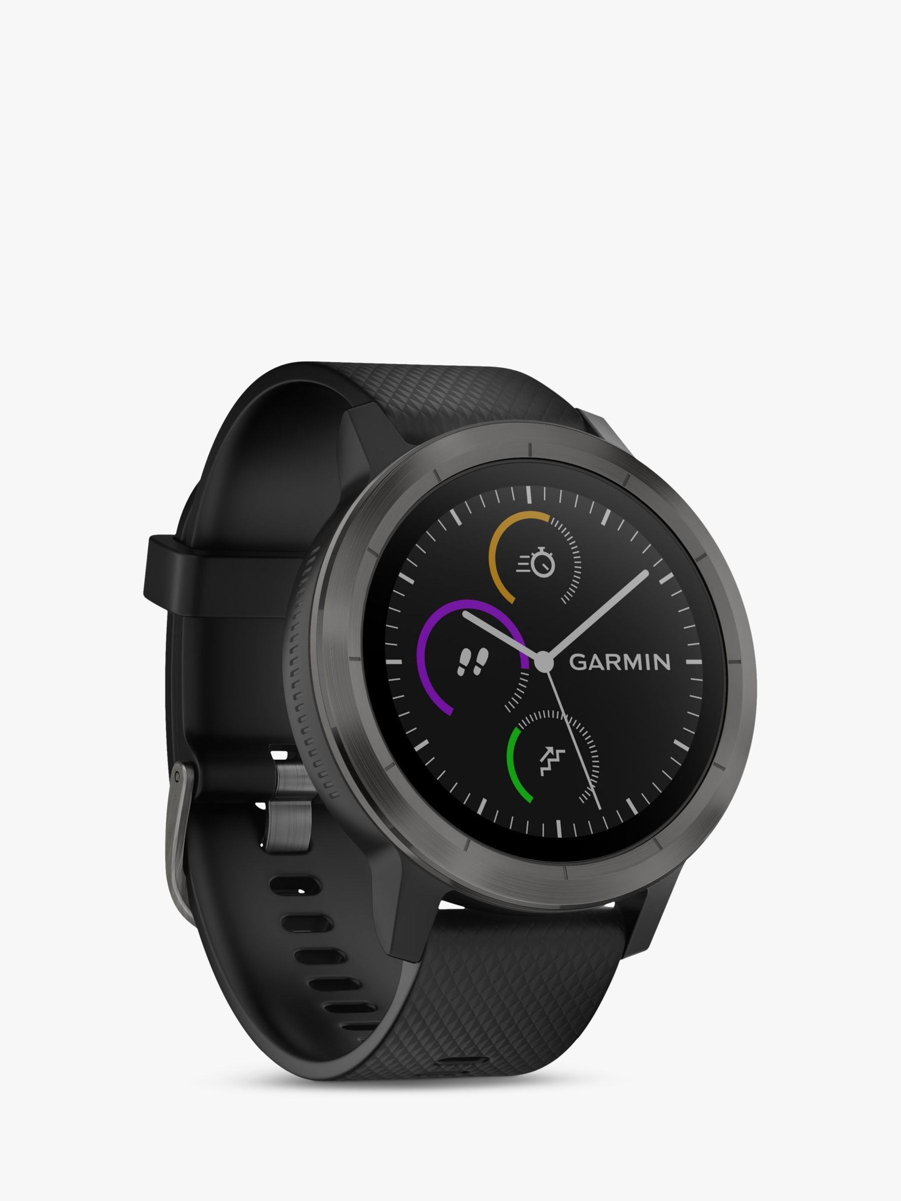 Garmin Garmin Vivoactive 3 GPS Smartwatch with Contactless Payment and HR, Black/Slate