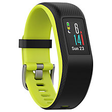Buy Garmin Vívosport, Smart Activity Tracker with Wrist Based Heart Rate and GPS, Large Online at johnlewis.com