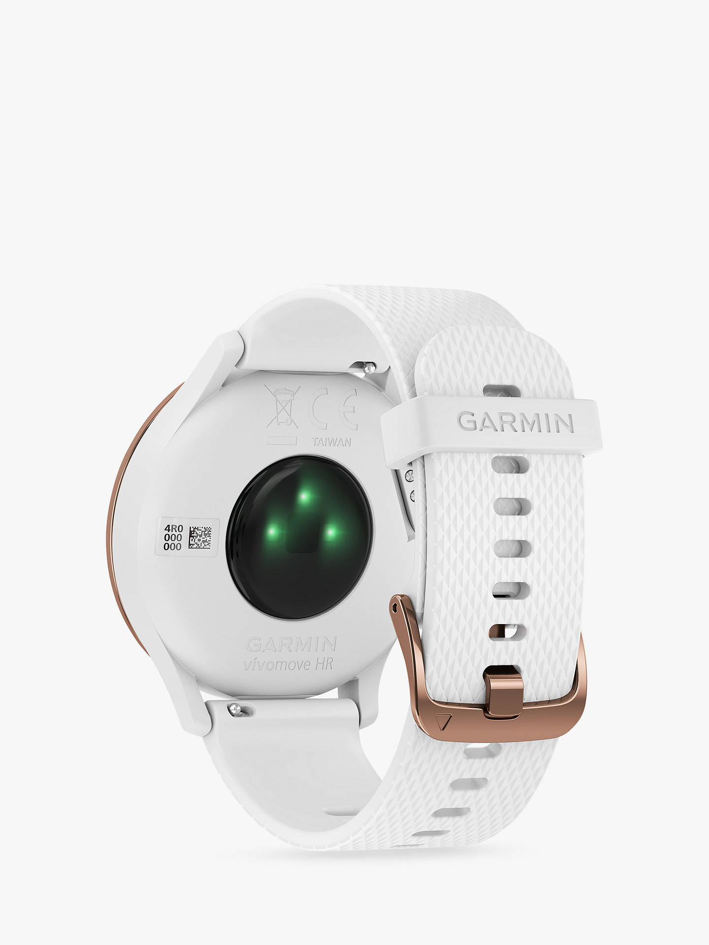 Buy Garmin vivomove HR Sport Smartwatch, Small/Medium, Rose Gold Online at johnlewis.com