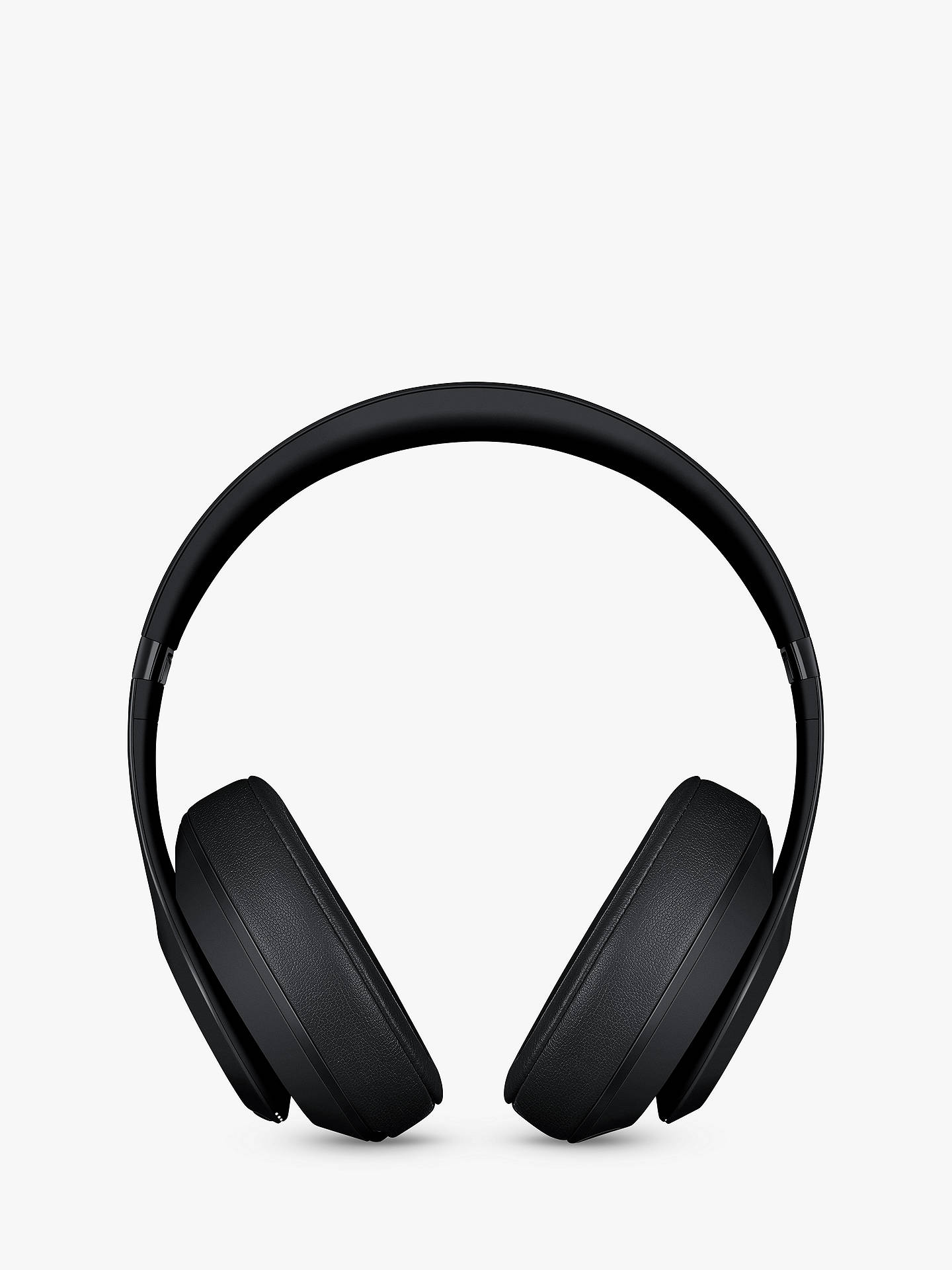 BuyBeats Studio³  Wireless Bluetooth Over-Ear Headphones with Pure Adaptive Noise Cancelling & Mic/Remote, Matte Black Online at johnlewis.com