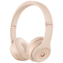 Buy Beats Solo³ Wireless Bluetooth On-Ear Headphones with Mic/Remote Online at johnlewis.com