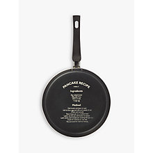 Buy John Lewis The Basics Pancake Recipe Frying Pan, Dia.24cm Online at johnlewis.com