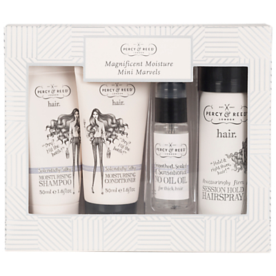 Percy & Reed Magnificent Moisture Mini Marvels Haircare Gift Set