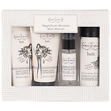 Buy Percy & Reed Magnificent Moisture Mini Marvels Haircare Gift Set Online at johnlewis.com