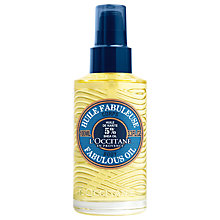 Buy L'Occitane Shea Fabulous Oil, 100ml Online at johnlewis.com