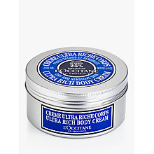 Buy L'Occitane Shea Ultra Rich Body Cream, 200ml Online at johnlewis.com