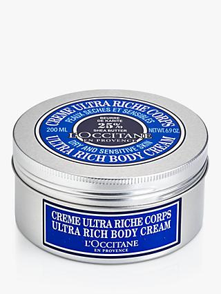 L'Occitane Shea Ultra Rich Body Cream, 200ml
