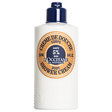 Buy L'Occitane Shea Shower Cream, 250ml Online at johnlewis.com