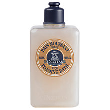 Buy L'Occitane Shea Rich Foaming Bath, 500ml Online at johnlewis.com