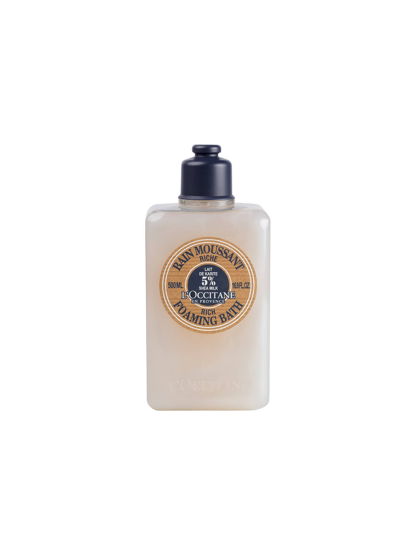 BuyLOccitane Shea Rich Foaming Bath 500ml Online At Johnlewis
