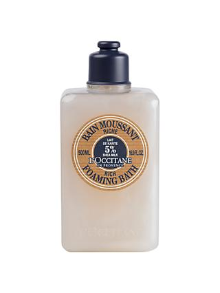 L'Occitane Shea Rich Foaming Bath, 500ml