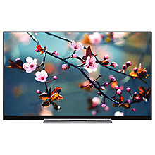 "Buy Toshiba 55U7763DB LED 4K Ultra HD Smart TV, 55"" with Built-In Wi-Fi, Freeview HD & Freeview Play, Black Online at johnlewis.com"