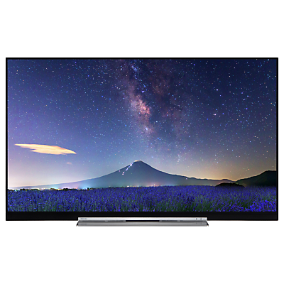 Toshiba 49U7763DB LED 4K Ultra HD Smart TV, 49 with Built-In Wi-Fi, Freeview HD & Freeview Play, Black