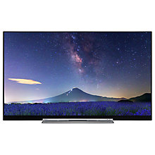 "Buy Toshiba 49U7763DB LED 4K Ultra HD Smart TV, 49"" with Built-In Wi-Fi, Freeview HD & Freeview Play, Black Online at johnlewis.com"