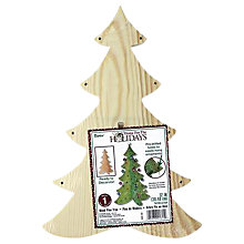 Buy Darice 3D Wooden Christmas Tree Decoration Online at johnlewis.com