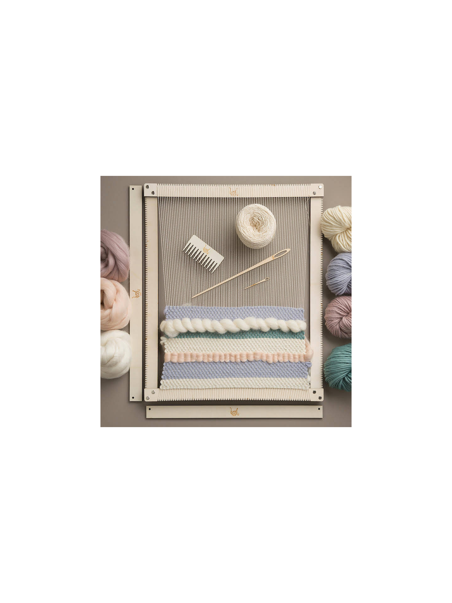 Wool Couture Rectangular Weaving Loom