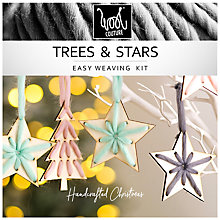 Buy Wool Couture Star & Tree DIY Bauble Kit, Multi Online at johnlewis.com
