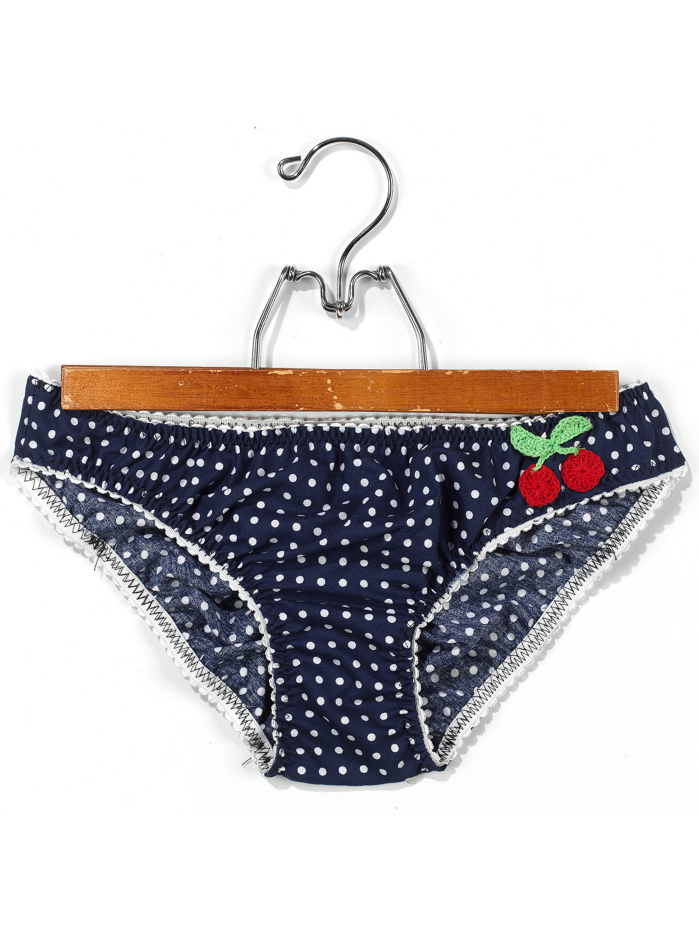 BuyThe Makery Polka Dot Knickers Sewing Craft Kit Online at johnlewis.com