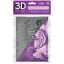 Buy Crafter's Companion 3D Christmas Village Embossing Folder Online at johnlewis.com