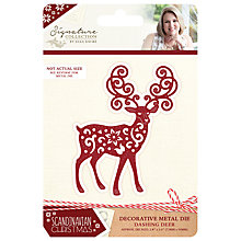 Buy Crafter's Companion Scandinavian Christmas Dashing Deer Die Online at johnlewis.com