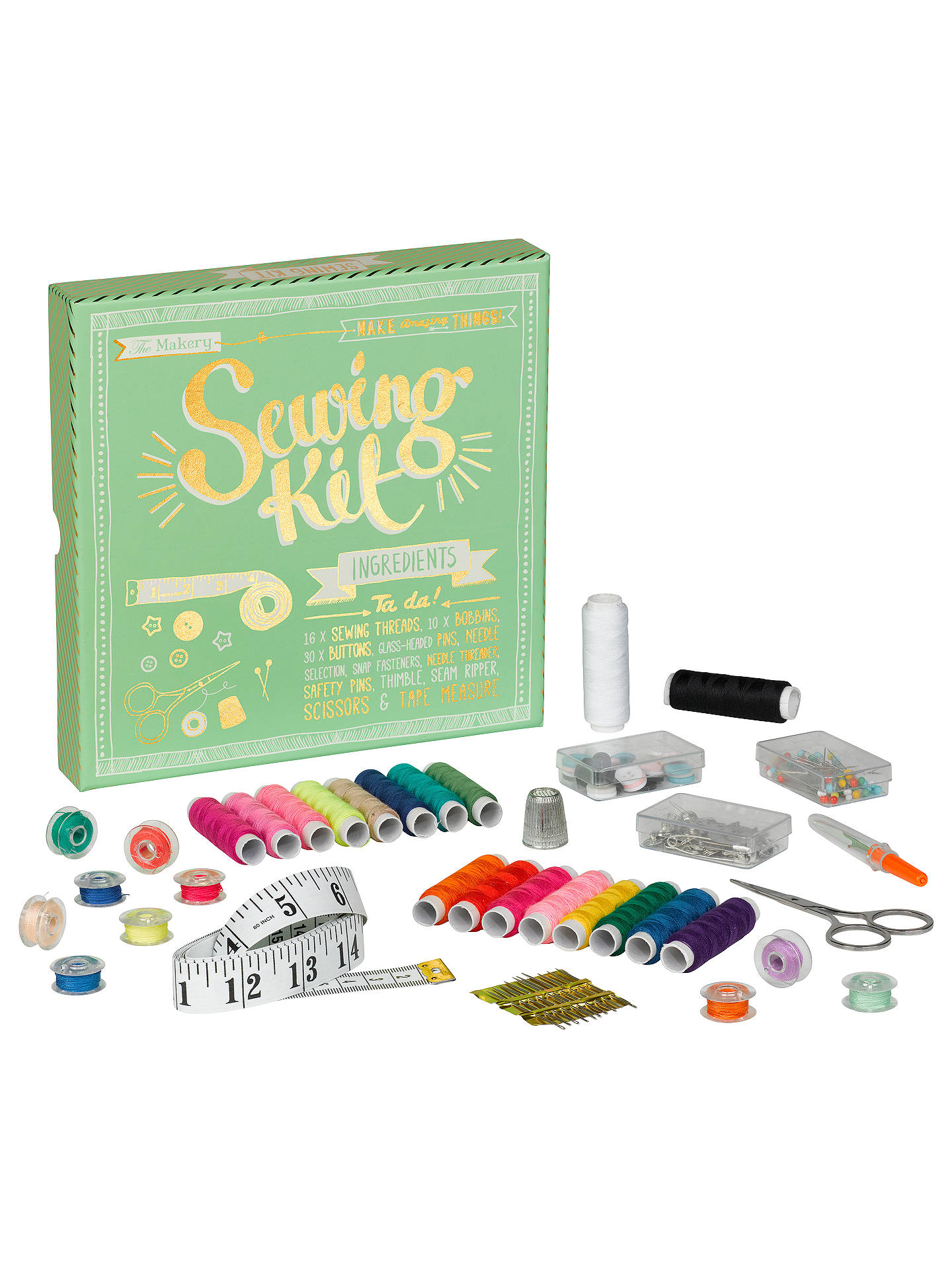 BuyThe Makery Sewing Kit Online at johnlewis.com