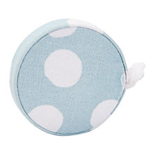 Buy John Lewis Spot Print Dressmaking Tape Measure, Duck Egg Online at johnlewis.com
