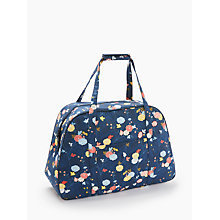 Buy John Lewis Floral Vine Print Sewing Machine Bag, Blue Online at johnlewis.com