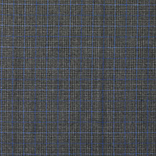 Buy Viscount Textiles Check Weave Fabric, Grey/Blue Online at johnlewis.com