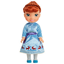 Buy Disney Olaf's Frozen Adventure Anna Doll Online at johnlewis.com