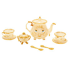 Buy Disney Beauty and the Beast Enchanted Objects Tea Set Online at johnlewis.com