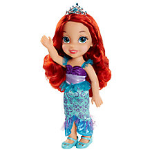 Buy Disney Princess Ariel Toddler Doll Online at johnlewis.com
