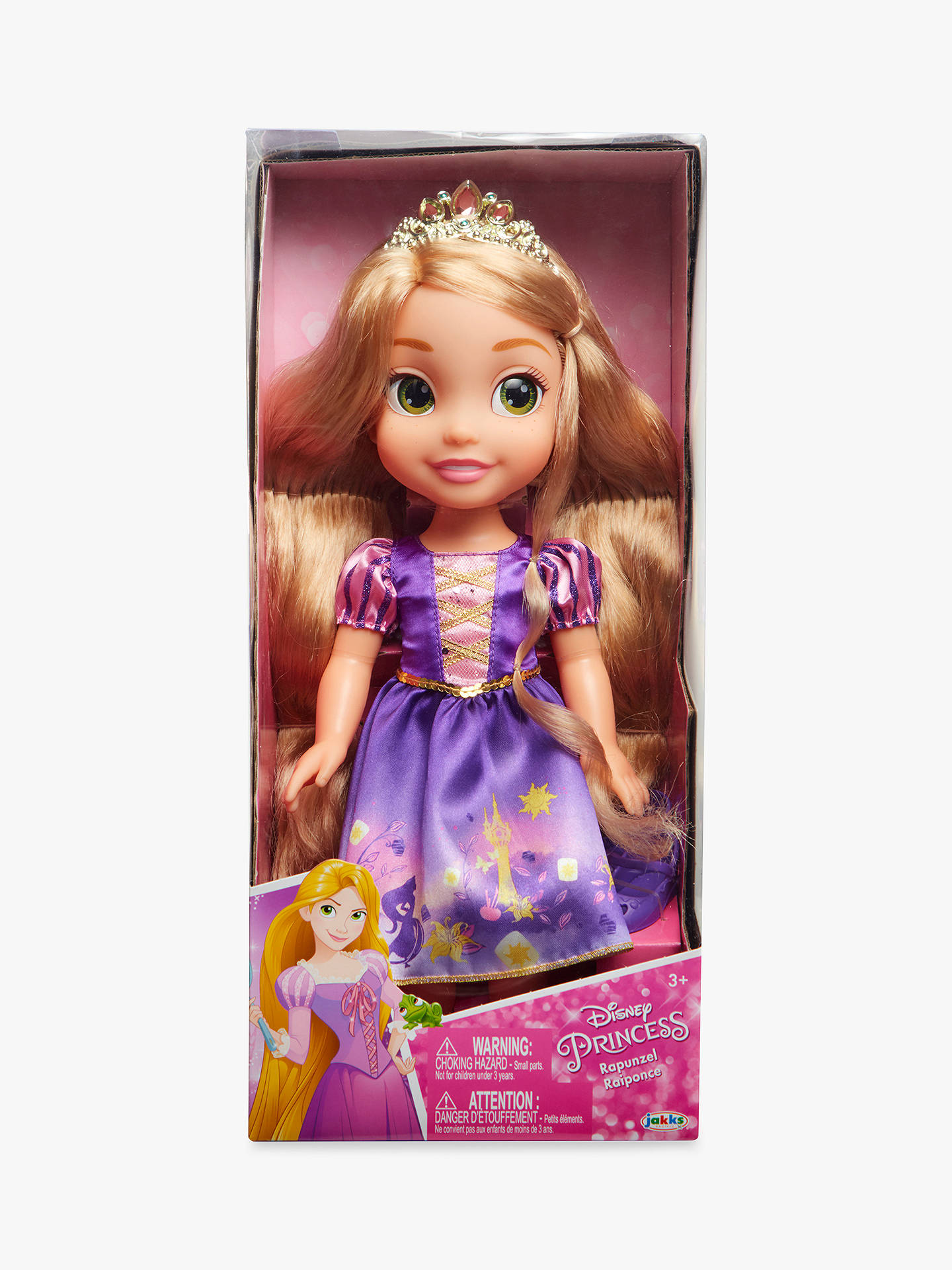 055fce8375 Buy Disney Toddler My First Princess Toddler Rapunzel Online at  johnlewis.com ...