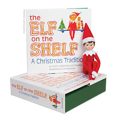 The Elf on the Shelf with Boy Elf