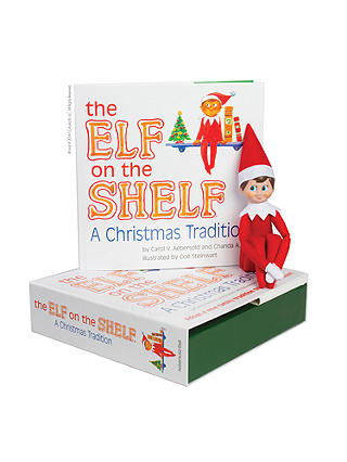 Buy The Elf on the Shelf with Boy Elf Online at johnlewis.com