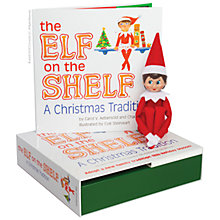 Buy The Elf on the Shelf with Girl Elf Online at johnlewis.com