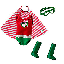 Buy The Elf on the Shelf Claus Couture Scout Elf Superhero Costume Online at johnlewis.com