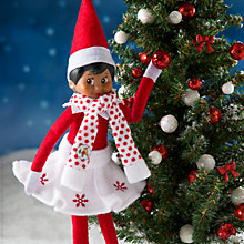 Buy The Elf on the Shelf Snowflake Skirt and Scarf Online at johnlewis.com
