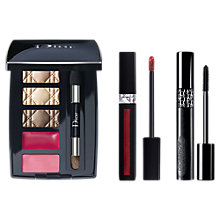 Buy Dior Rouge Dior Liquid Lipstick, 979 Poison Metal and Pump 'N' Volume Mascara with Gift Online at johnlewis.com