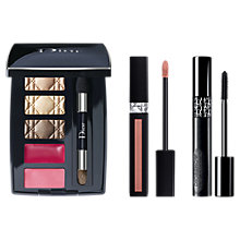 Buy Dior Rouge Dior Liquid Lipstick, 221 Chic Matte and Pump 'N' Volume Mascara with Gift Online at johnlewis.com