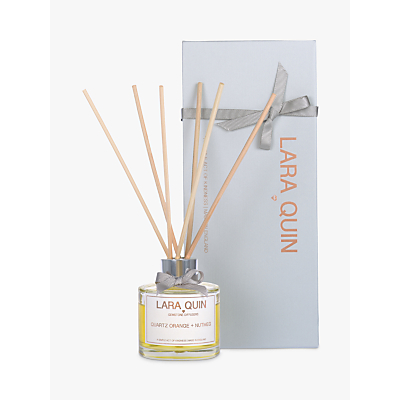 Lara Quin Quartz Orange & Nutmeg Diffuser, 100ml